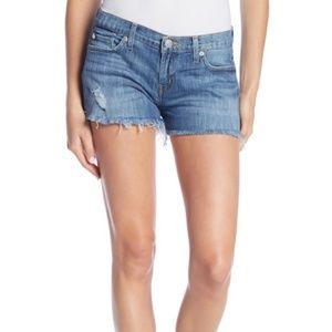 NWOT Hudson Kenzie Cutoff Denim Shorts size 32